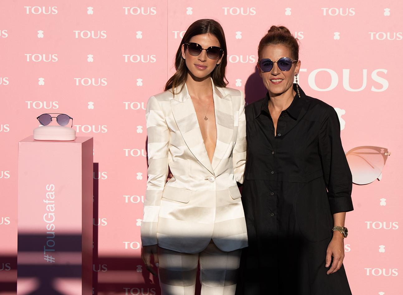 La modeloSandra Gagoamadrina el lanzamiento dela nueva gafa para el verano deTOUS