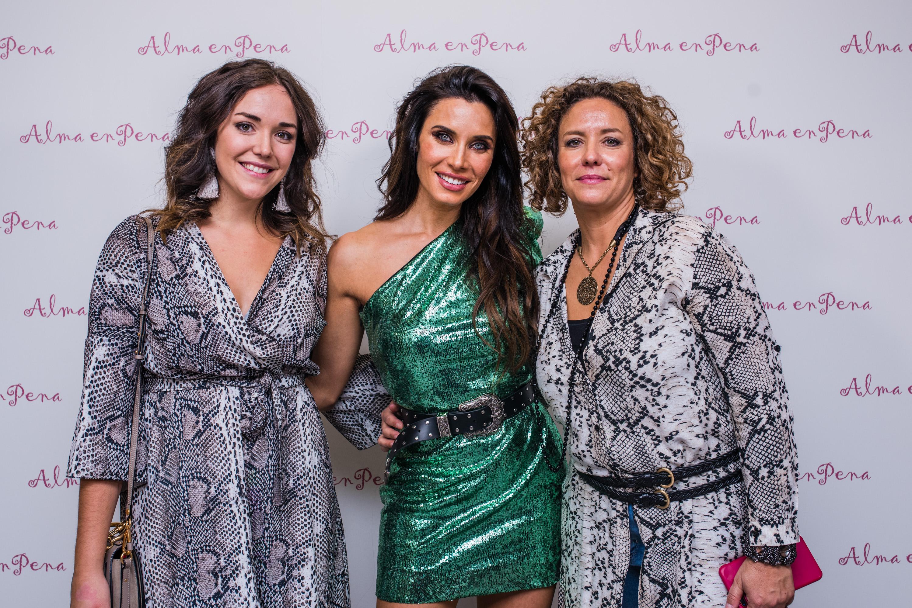 """Pilar Rubio presenta y protagoniza la nueva campaña de Alma en Pena fw 18 en su """"flagship store"""" de Madrid"""