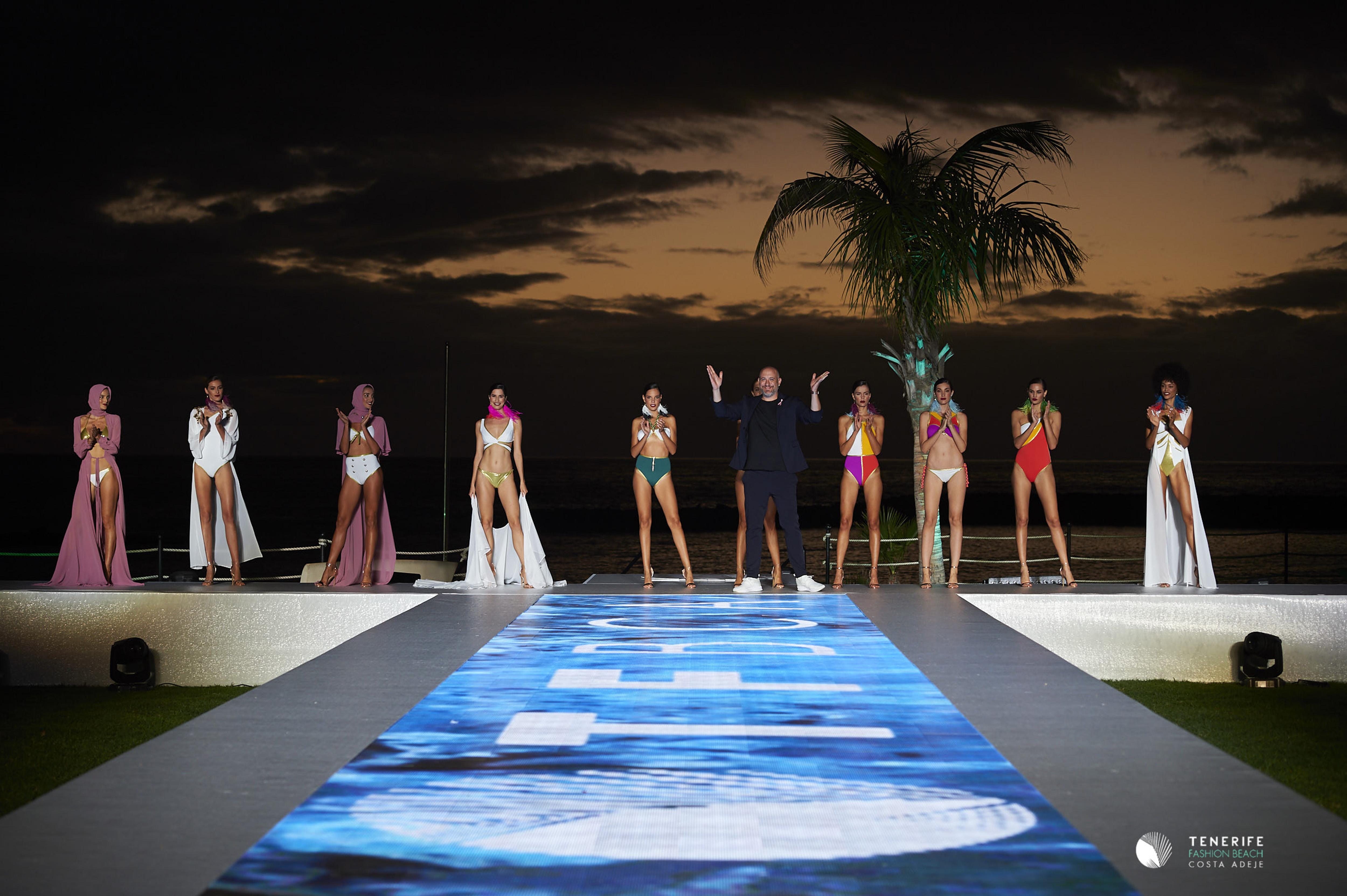 Tenerife Fashion Beach Costa Adeje se consolida en esta segunda edición como pasarela referente en moda baño combinando el binomio'moda y clima'