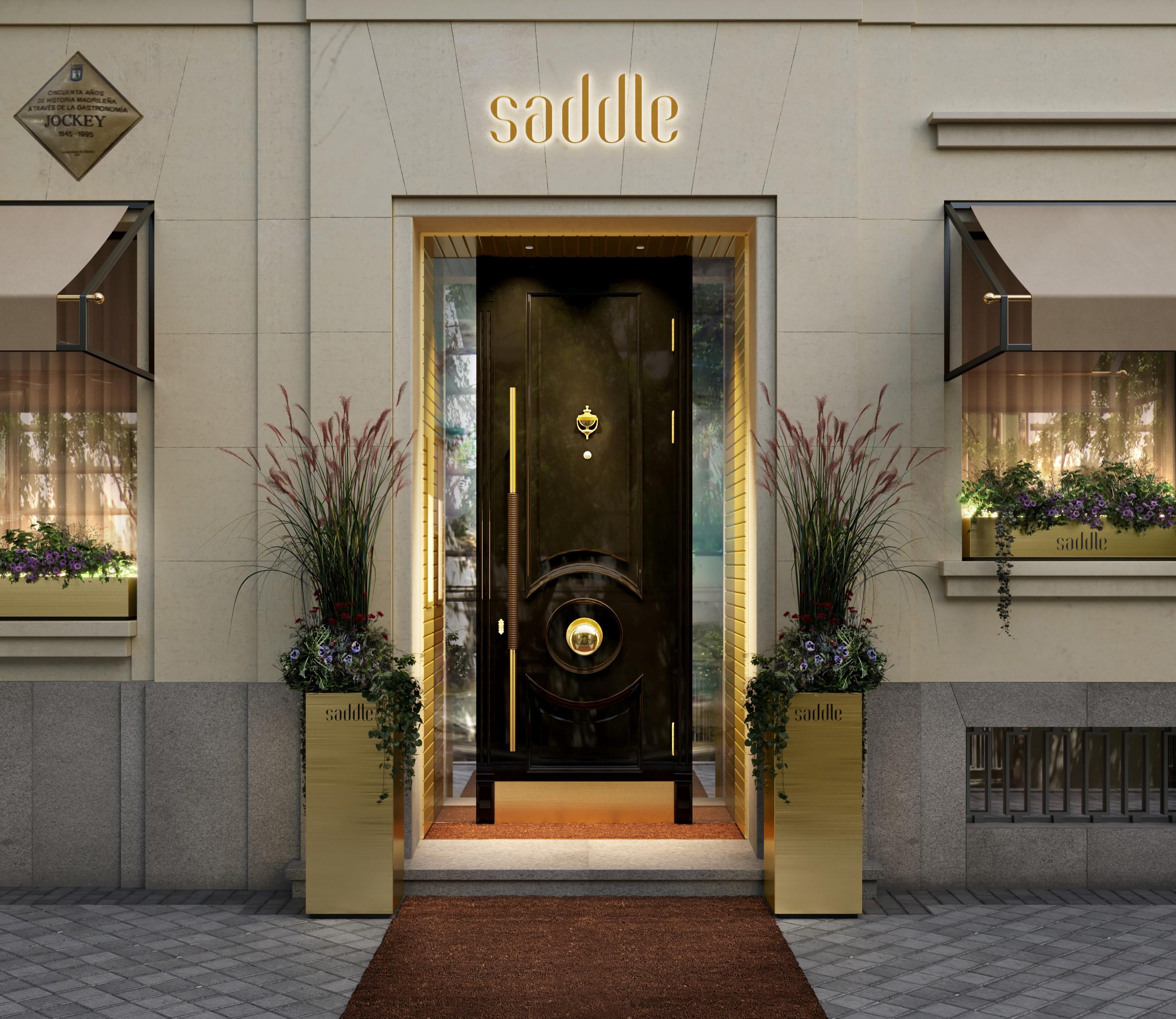 SADDLE acoge el único reservado permanente de Dom Pérignon