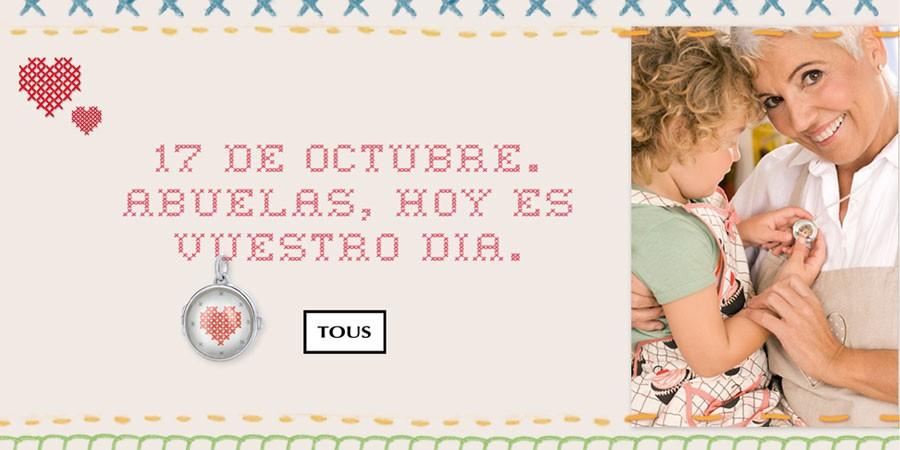 Tous celebra este 17 de octubre el Dia de las Abuelas