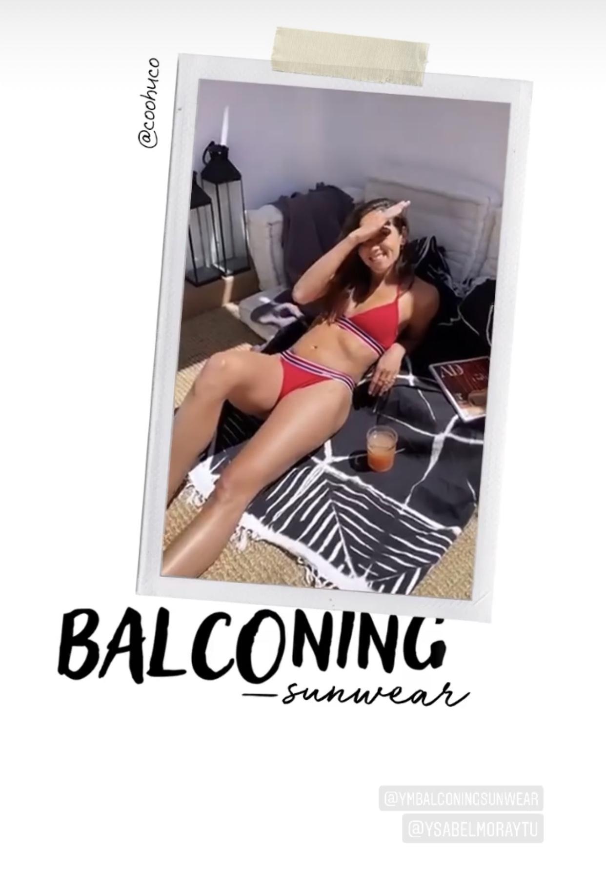 Ysabel Mora presenta su colección de verano con el balconing