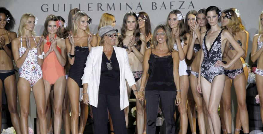 Guillermina Baeza deslumbra en Cibeles con su colección de baño 2011