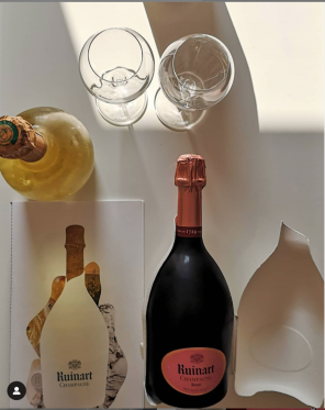 Nuevos tiempos, Nuevos formatos: RUINART pone en marcha con gran éxito los E-Tastings, catas del mejor champagne desde casa