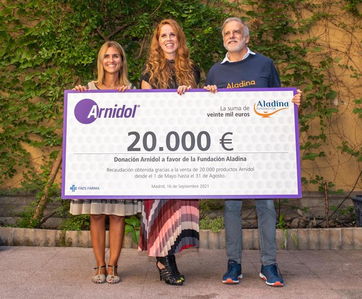 Maria Castro comprometida por cambiar la realidad de más de 100 familias con un niño enfermo de cáncer en España