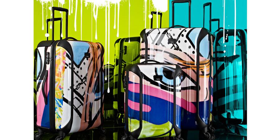 TUMI apuesta por los graffiti de Crash
