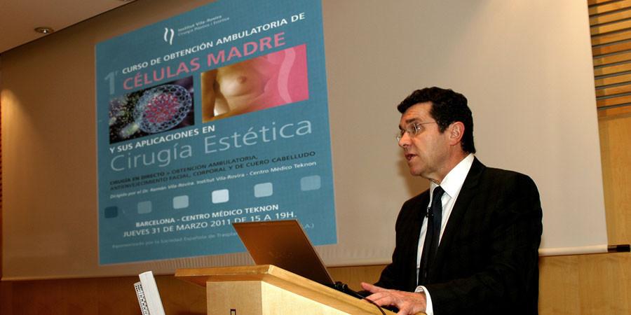 1º Curso de Obtención Ambulatoria de Células Madres impartido por el Dr. Ramón Vila-Rovira