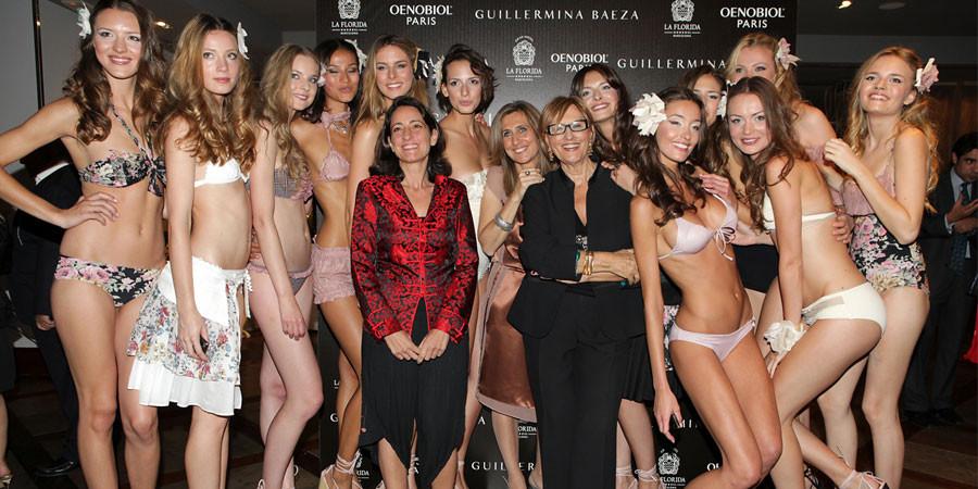 El exquisito desfile de Guillermina Baeza en Barcelona