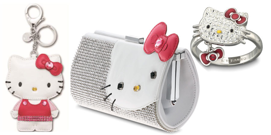 Hello Kitty brilla con Swarovski