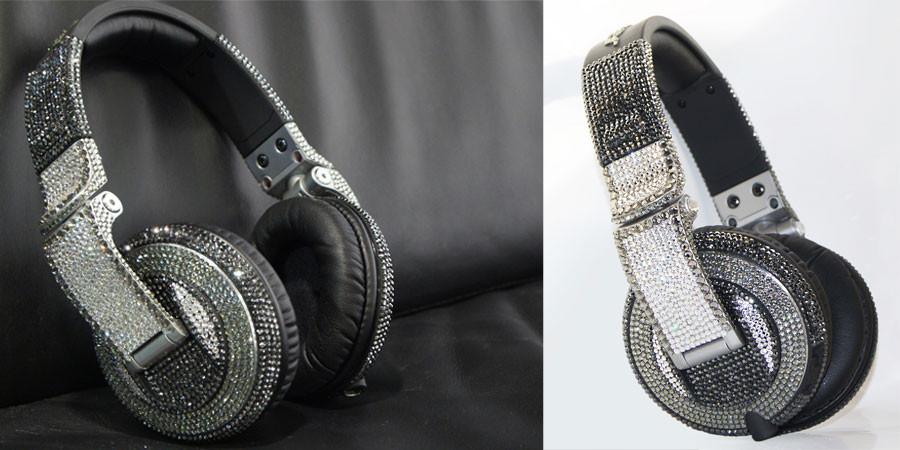 Los nuevos auriculares VIP DJ de Swarovski Elements