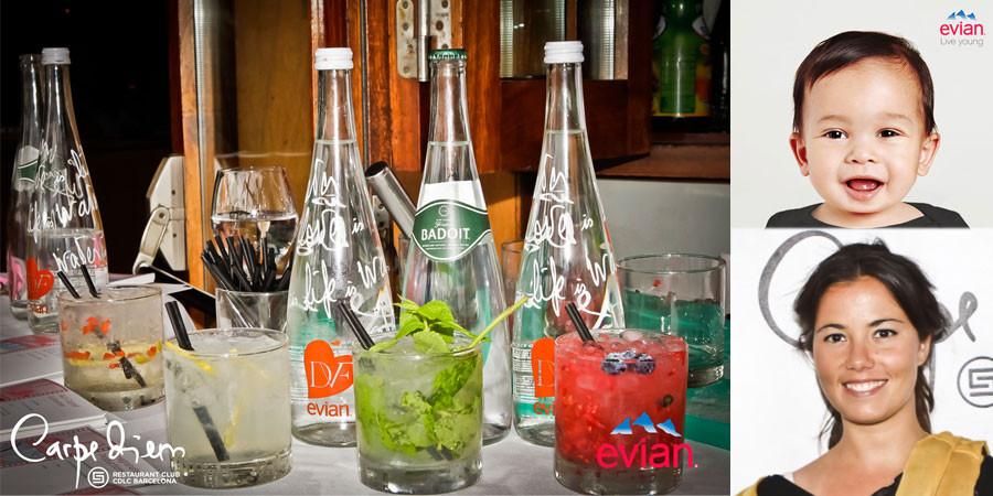 Agua Evian y Badoit refrescan el fin de semana de Fórmula 1
