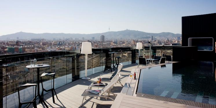El Hotel Barceló Raval Inaugura Su Terraza 360º Sobre Barcelona