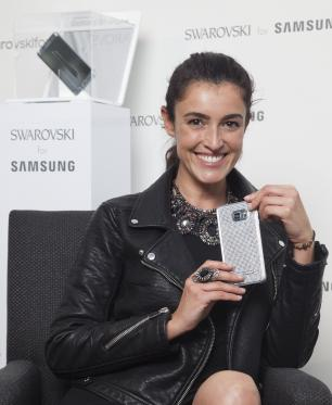 Lanzamiento Swarovski for Samsung: Glam Edition