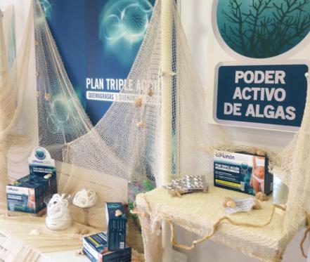Piazza presentó el nuevo pack biManán Algae