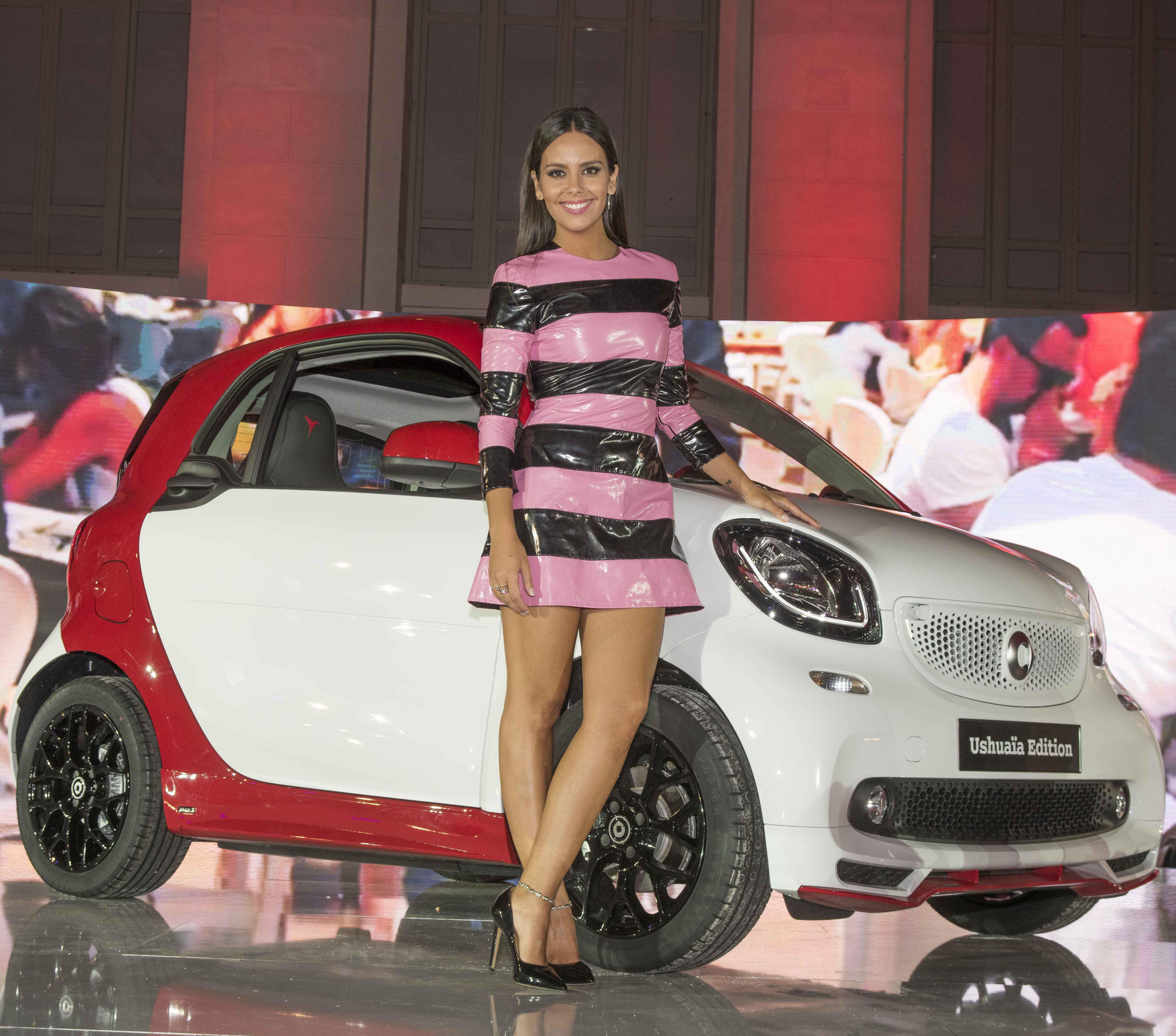 Cristina Pedroche imagen del nuevo smart Ushuaïa Limited Edition