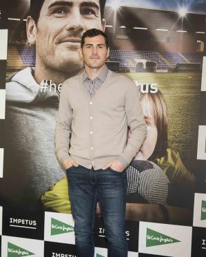 Iker Casillas protagonista del primer cortometraje de la firma Impetus