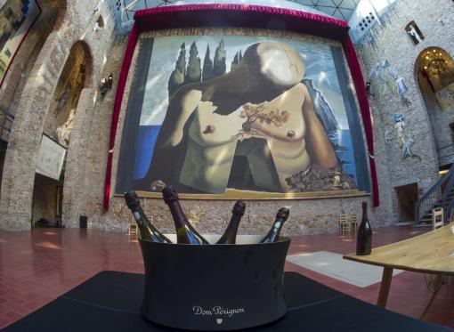 El museo-Teatro Dalí apadrina la presentación del exclusivo Dom Perignon vintage rosé 2005