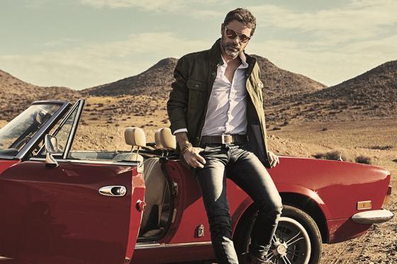 La firma masculina Mr Musk presenta su colaboración con Bloomers, firma de baño creada por la modelo Laura Sánchez y David Ascanio, imagen de la marca.