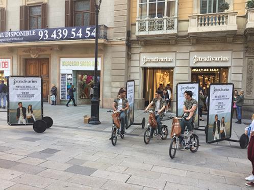 Stradivarius celebra sus mil tiendas en la reapertura de portal del Ángel en Barcelona