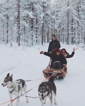 Nina Ricci nos lleva a Laponia #LetsGoTalents