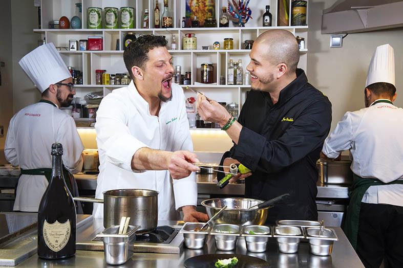 Dom Pérignon inaugura Spoonik club, el primer restaurante neurogastronómico